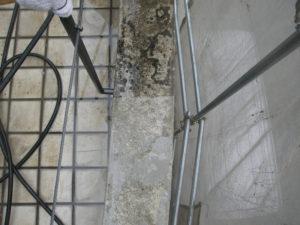 高圧洗浄機のパターンを開き汚れを除去致しました