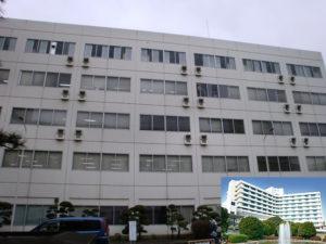 北里大学献体処理室関係の建物全景
