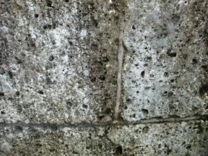 洗浄前の大谷石