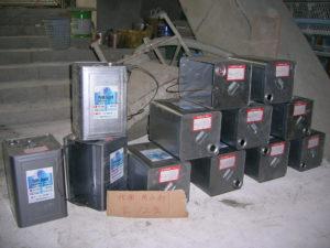 大量のフェイスガード防水剤XP100を使用しました