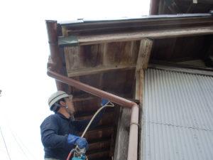 洗い上手-木部アク抜き用洗浄剤A3でアク抜き