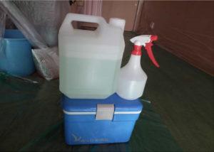 室内洗浄に利用するアルコール