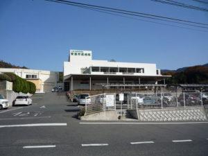 広島市の公立病院全景
