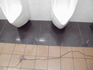 フェイスガード-インアタック3を塗布後の床面