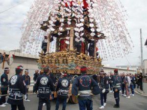 2012年の秩父祭りで巡行されました。