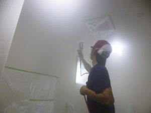 『心楽』トイレへ光触媒フェイスガードインAttack塗装