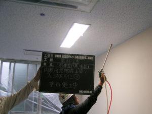 病室に光触媒塗装を致しました