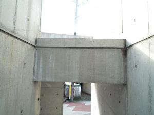 XP200塗布後のコンクリートの表情