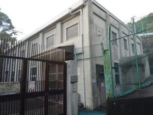 冨士さんが近い山梨県柏尾水力発電所
