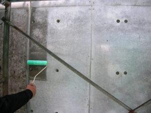 事前の防水テスト:フェイスガード防水剤XP100を塗布しました