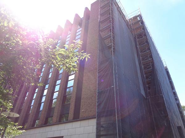 西2号館で2021年9月施工されました