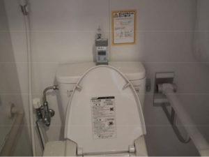 205号室のトイレ