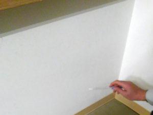 カビ取り洗浄剤A2でカビ除去