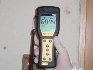 日部の清掃は出来ず6094の劇甚数値を計測しました。