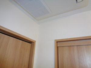 塗布後の壁面