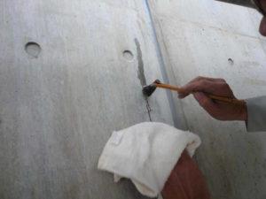 再度フェイスガード防水剤XP300を塗布します